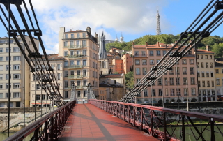 Bridge in Lyon South of France