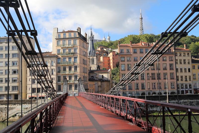 Bridge in Lyon South of France
