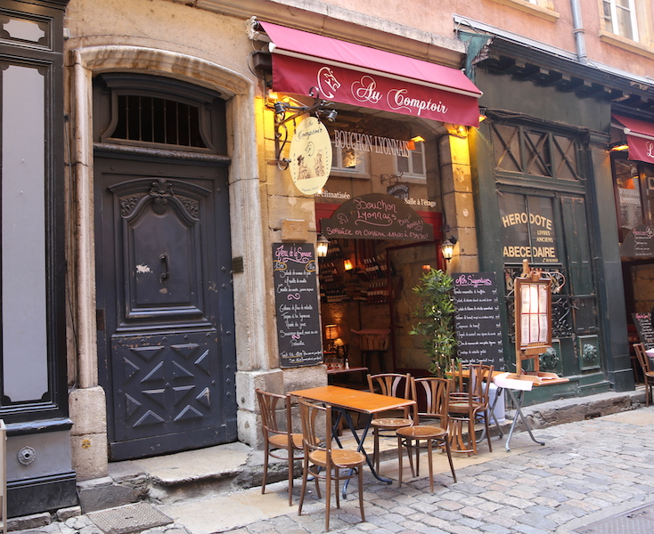 Bistro in Lyon South of France