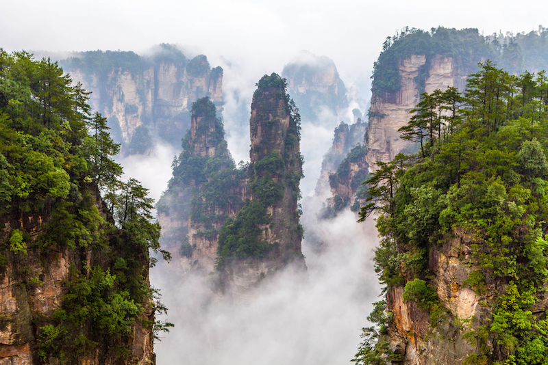 ZhangJiaJie National Forest in China