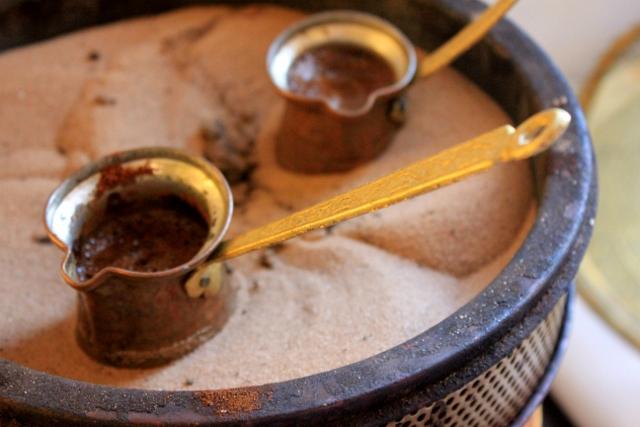 Greek Coffee in Greece