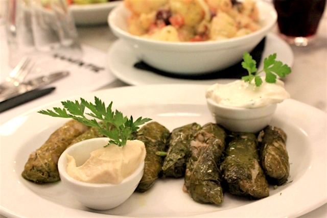 Traditional Greek Appetizer: Dolmades