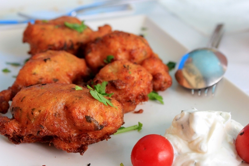 Traditional Greek Food: Santorini Tomato Fritters