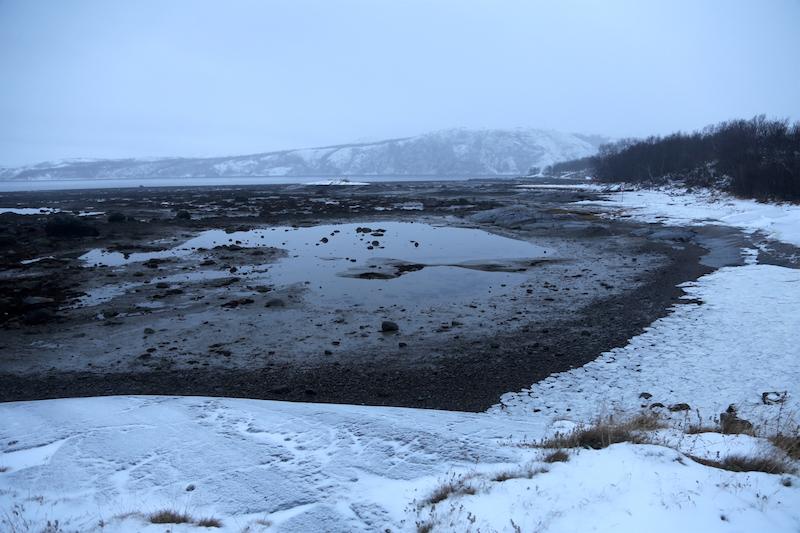 Snow Hiking in Kirkenes Northern Norway