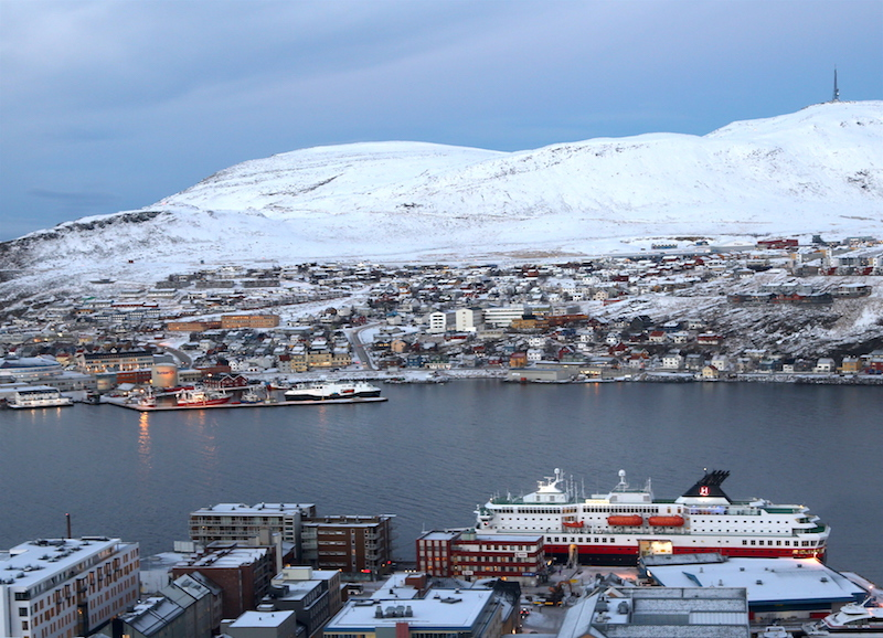 Snow Hiking with Hurtigruten in Hammerfest Norway