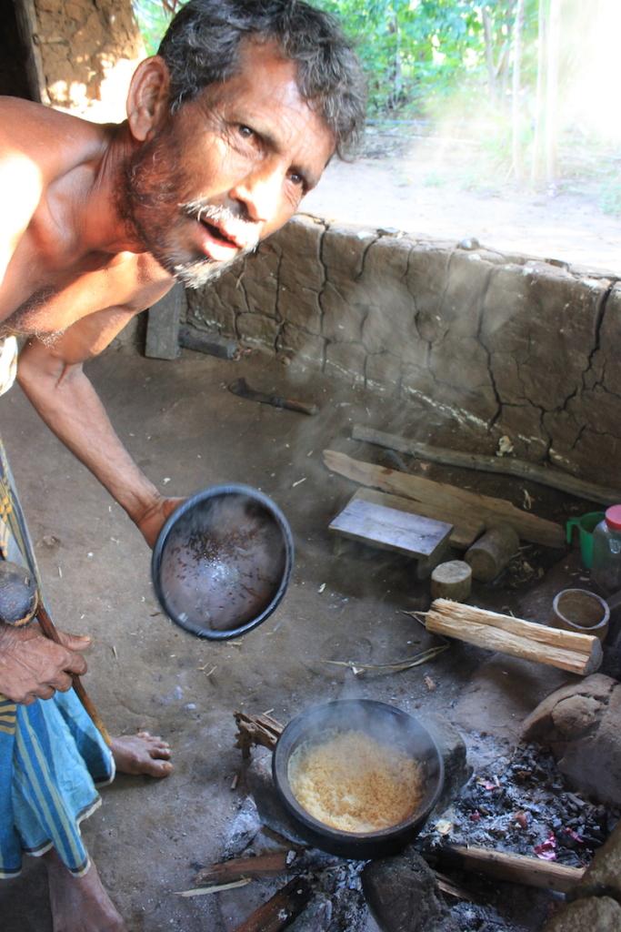 Village man on the Hiriwaduna Village Trek in Sri Lanka