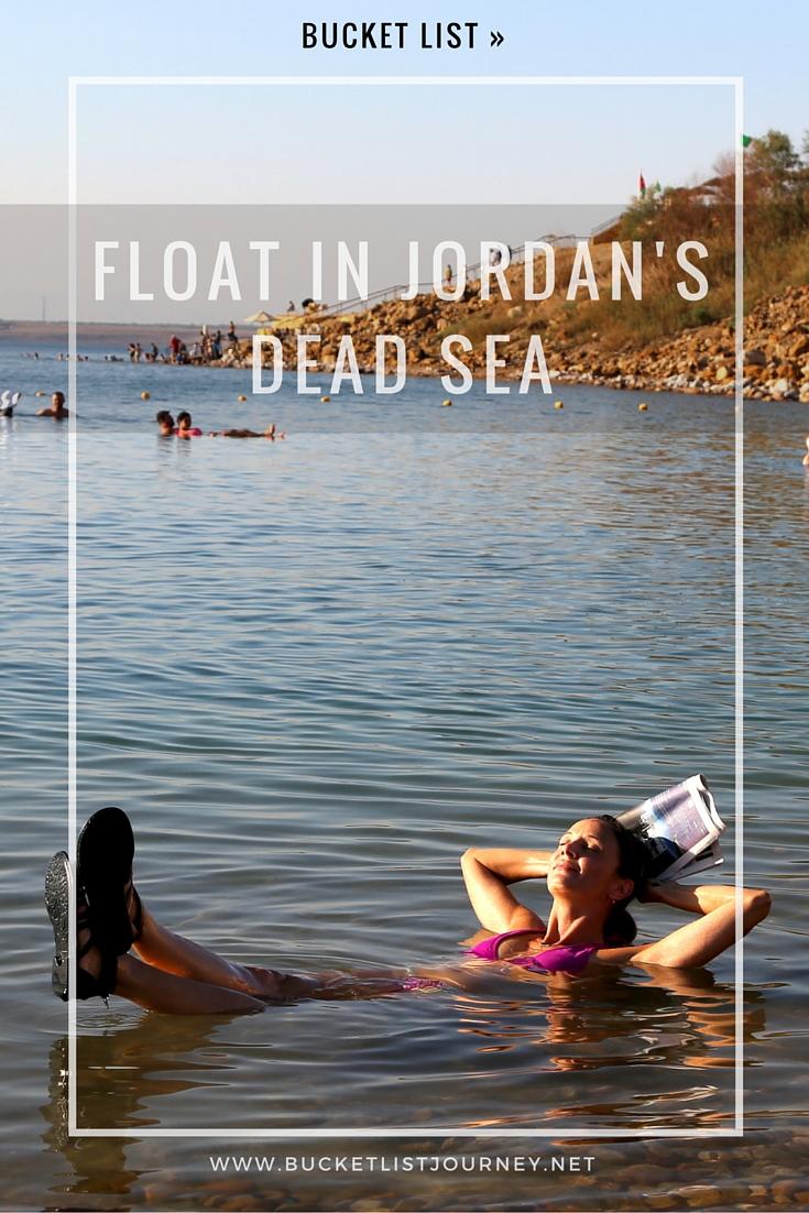 Pinterest: Float in the Dead Sea