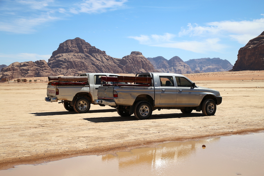 Wadi Rum Safari Truck in Jordan