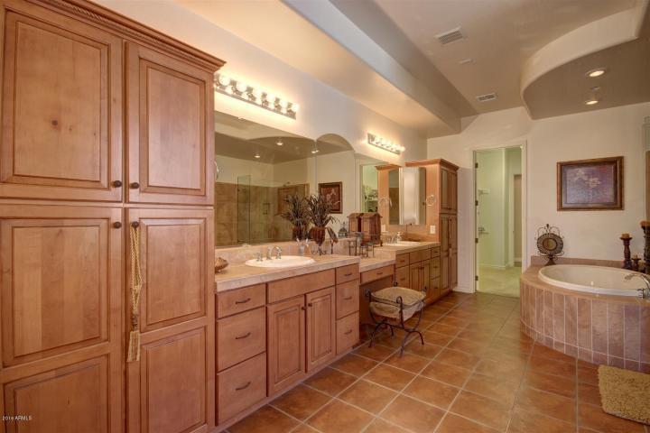 Annette White Arizona Home - Master Bath