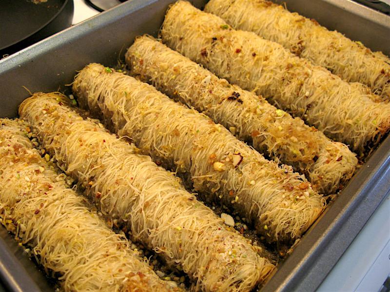 Traditional Greek Food: Kandaifi in Greece