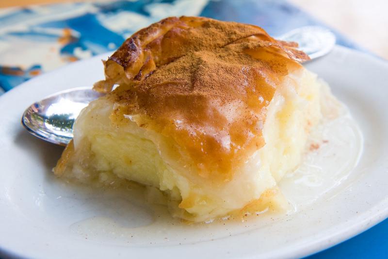 Traditional Greek Food: Galaktoboureko in Greece