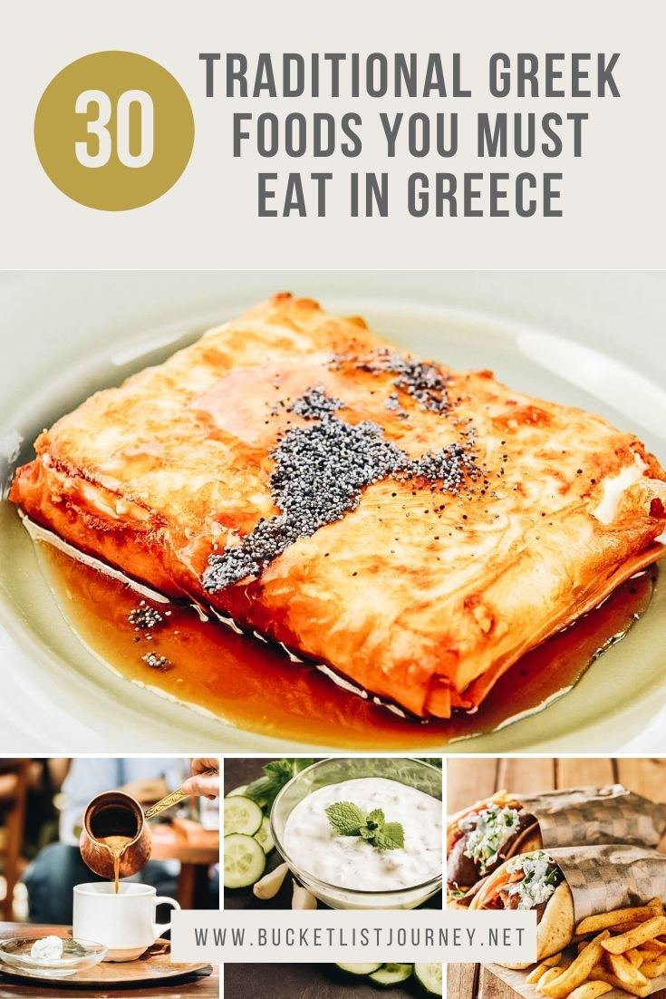 Greek Food Bucket List: The Best Traditional Dishes to Eat From Greece Cuisine