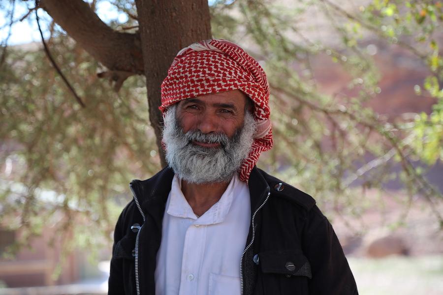 Our Bedouin driver in Jordan