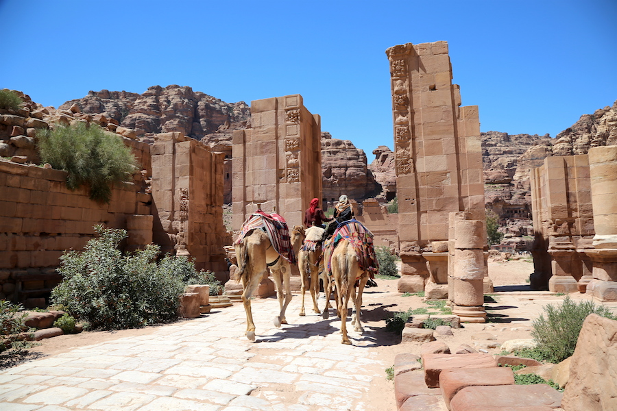 Petra Archaeological Site in Jordan: Top Historical Places: 10 UNESCO World Heritage Sites Around the World