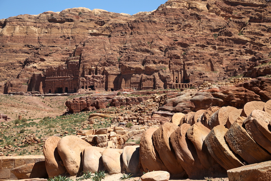 Petra Archaeological Site in Jordan