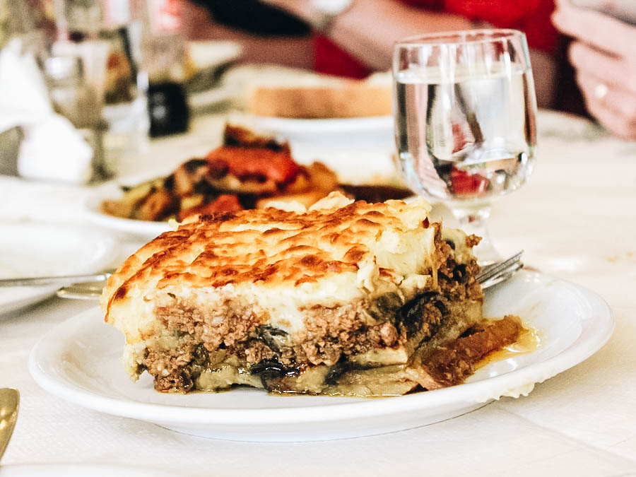 A rich and delicious moussaka