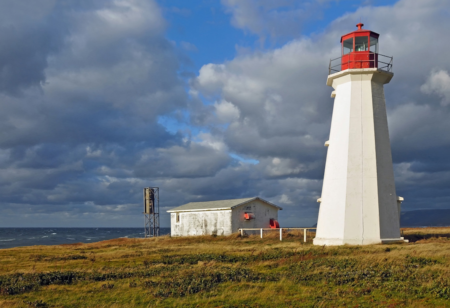Enragee Lighthouse: Canada's Cape Breton Island: 9 Best Stops While Driving the Cabot Trail in Nova Scotia