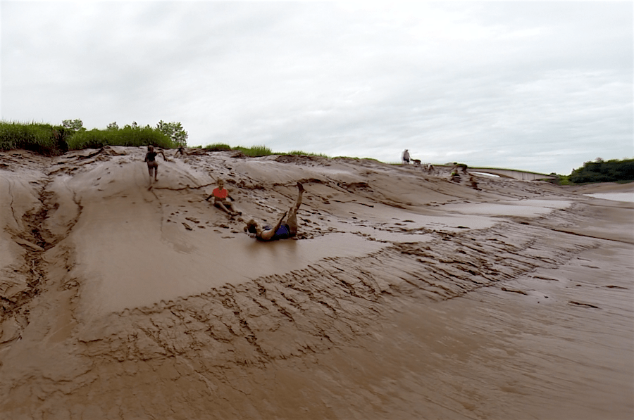 Mudsliding: A Nova Scotia Adventure: Tidal Bore Rafting the Bay of Fundy Tides