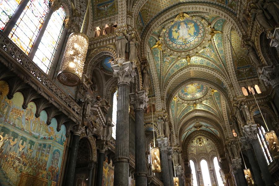 Basilique Notre Dame de Fourvière in Lyon