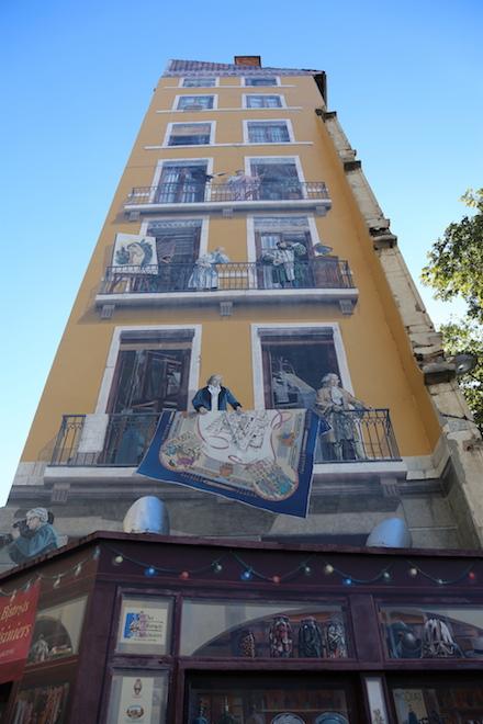Unique building in Lyon France