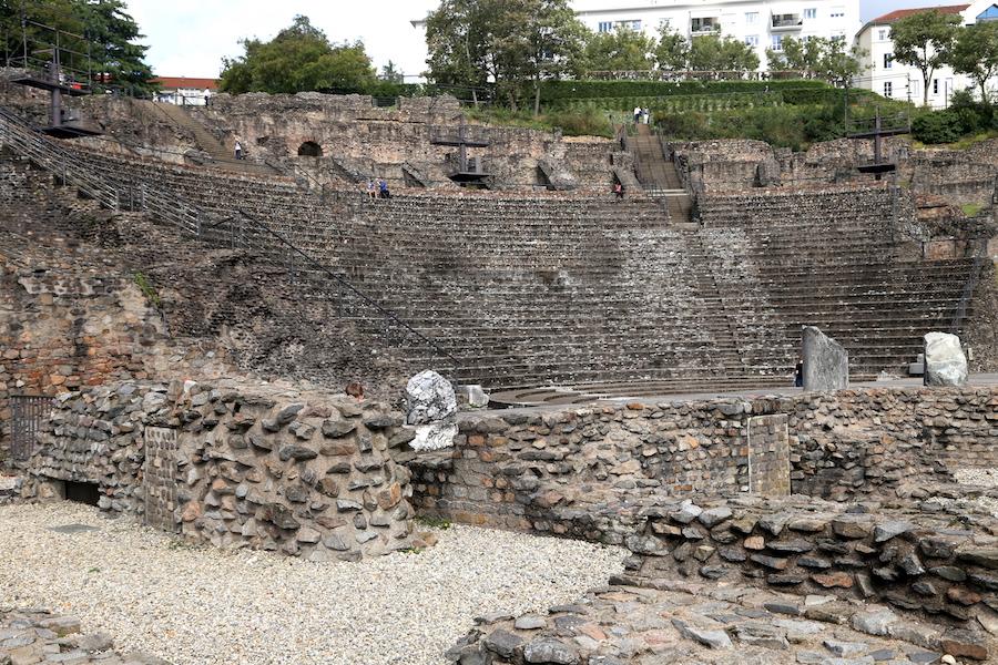 Ancient Theatre of Fourvière in Lyon France