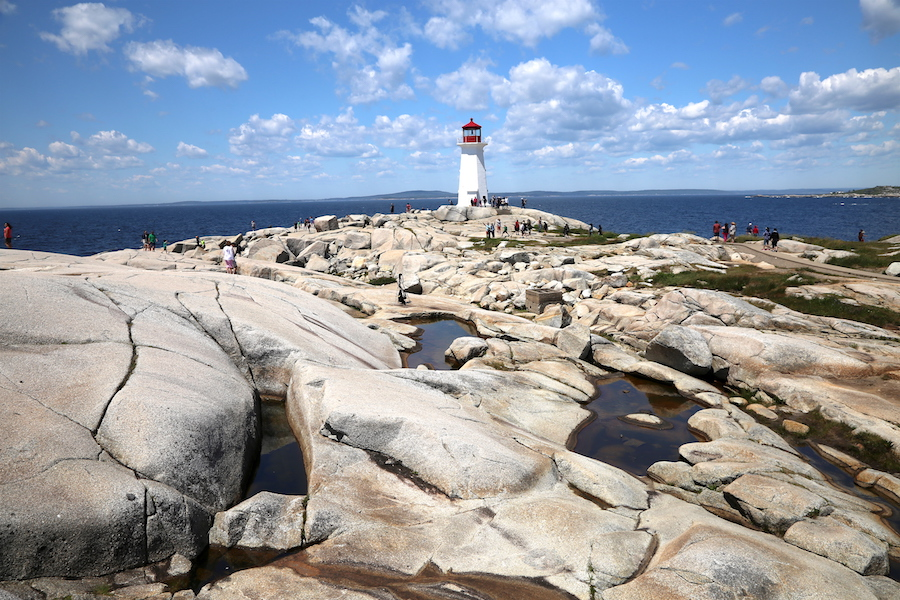 The iconic Lighthouse at Peggy's Cove: Nova Scotia Bucket List: 20 of the Best Things To Do When You Visit