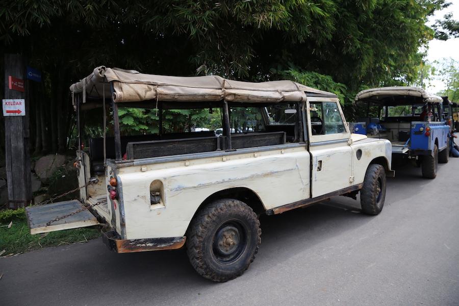 off-roading in Bandung, Indonesia