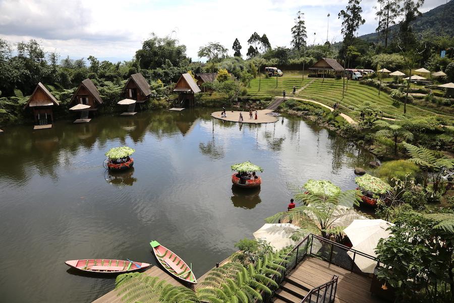 Dusun Bambu Family Park in Bandung, Indonesia