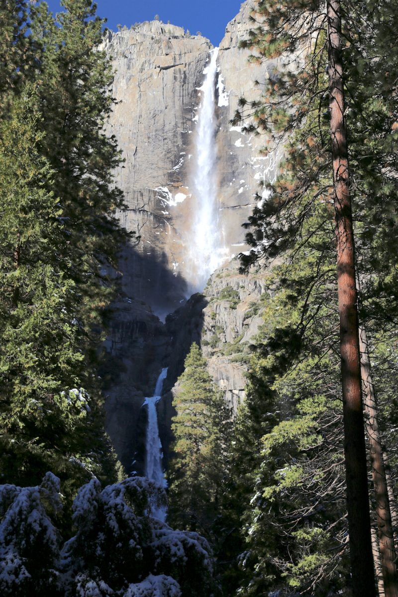 Yosemite Falls in California