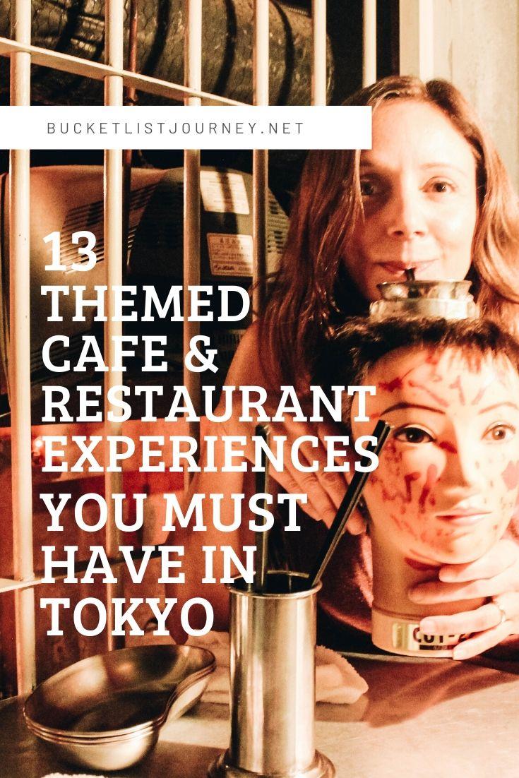 Tokyo Food: 13 Themed (& Slightly Weird) Cafe & Restaurant Experiences