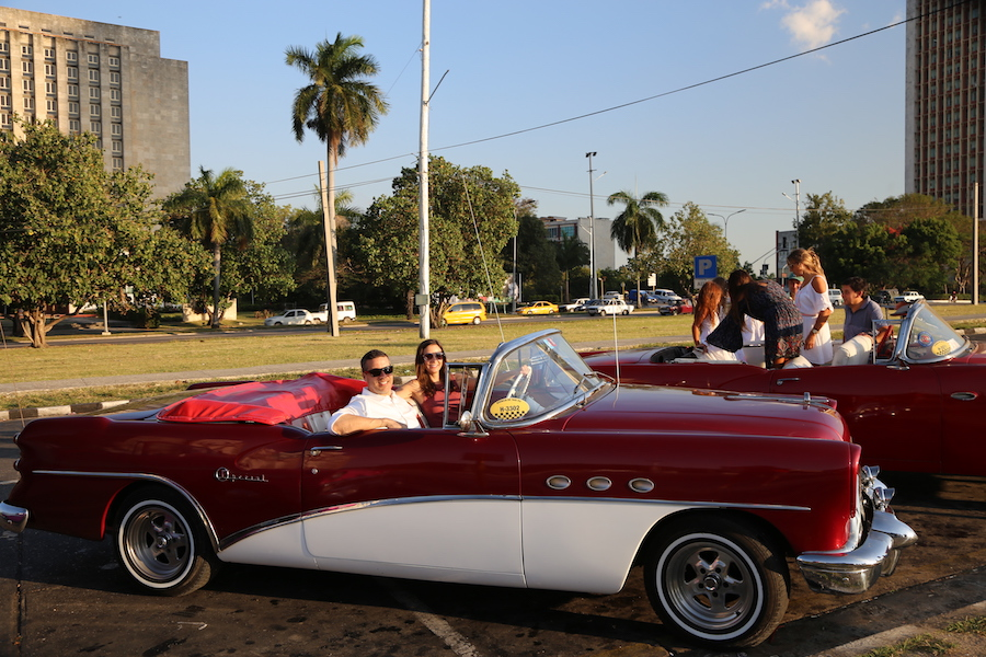 Havana Bucket List: 16 Things to Do & Places to Visit In Cuba's Capital: Annette White in a Vintage Convertible