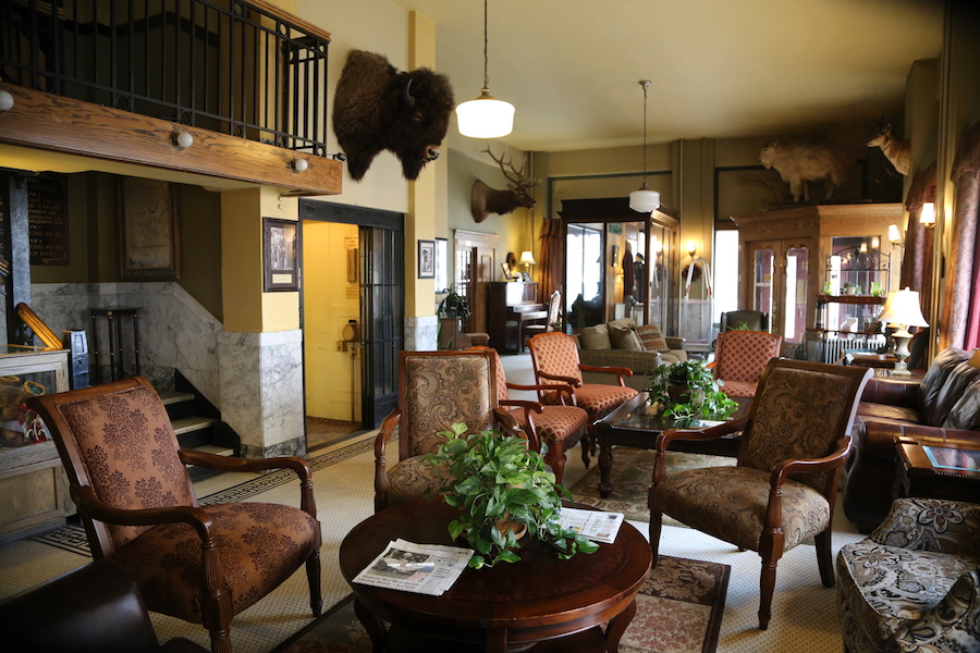 The Murray Hotel in Livingston,. Montana