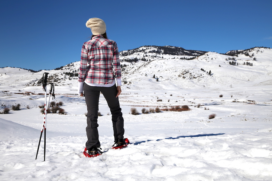 Annette White snowshoing | Overcoming Anxiety to Live Your Dream: 8 Tips to Facing Your Fears