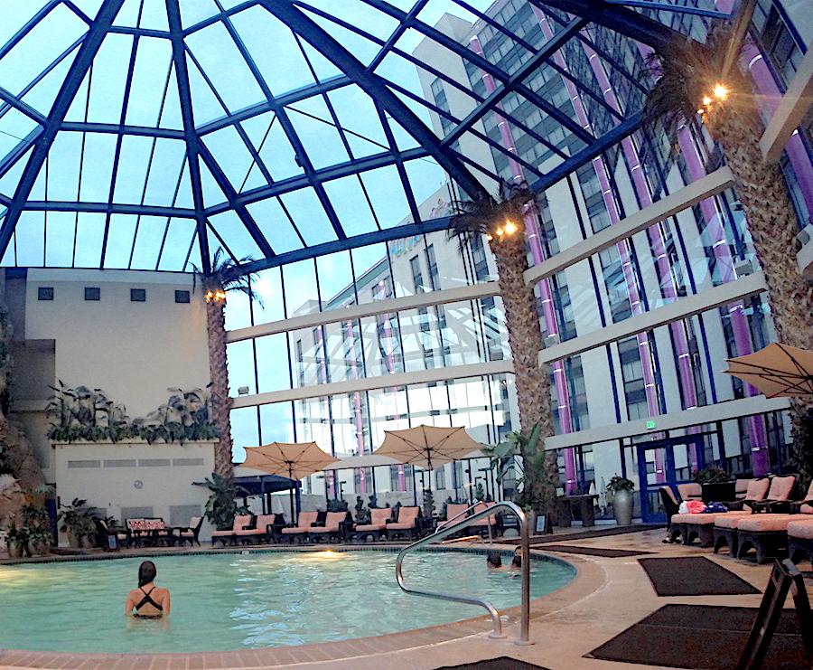 The Atrium Pool at the Atlantis Casino Resort Spa in Reno