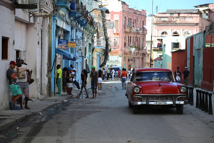 A random street in Old Town Havana