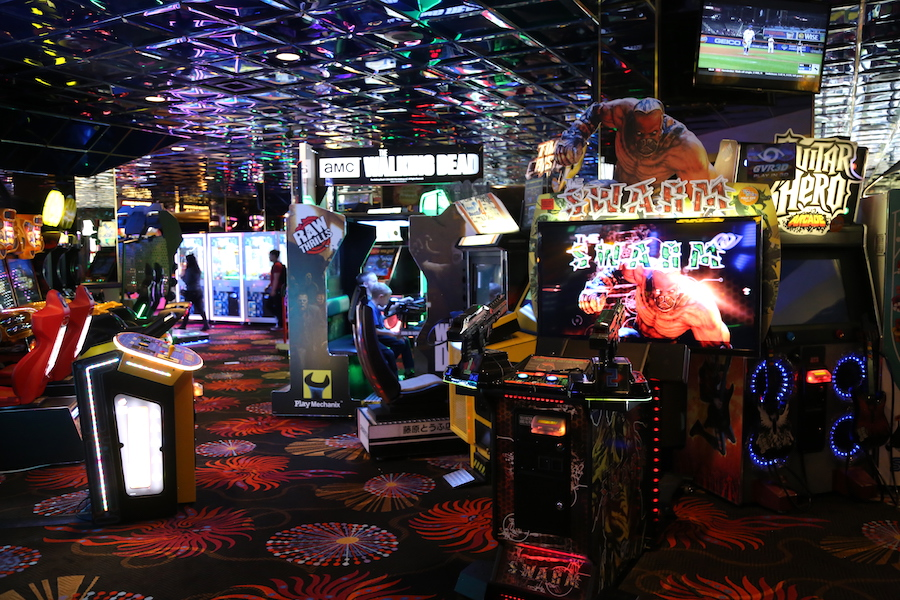 The game room at the Atlantis Casino Resort Spa in Nevada