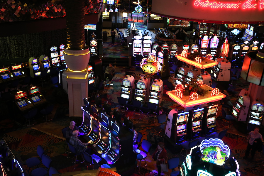 The casino at the Atlantis Casino Resort in Reno