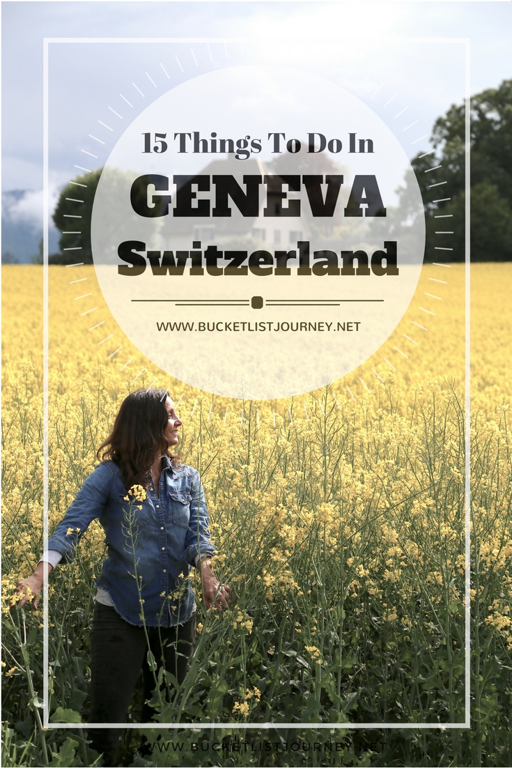 The Best Things to See, Do & Eat in Geneva, Switzerland's Second Largest city (Zurich is First): Top Restaurants, Hotels, Attractions and Adventure
