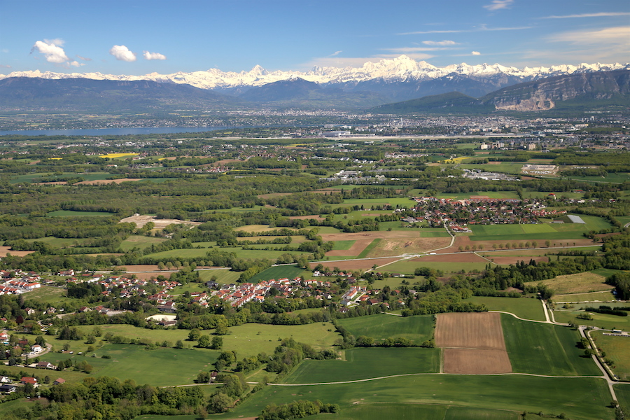 Helicopter View | Geneva Bucket List: Top Things to Do in Switzerland's Second Largest City