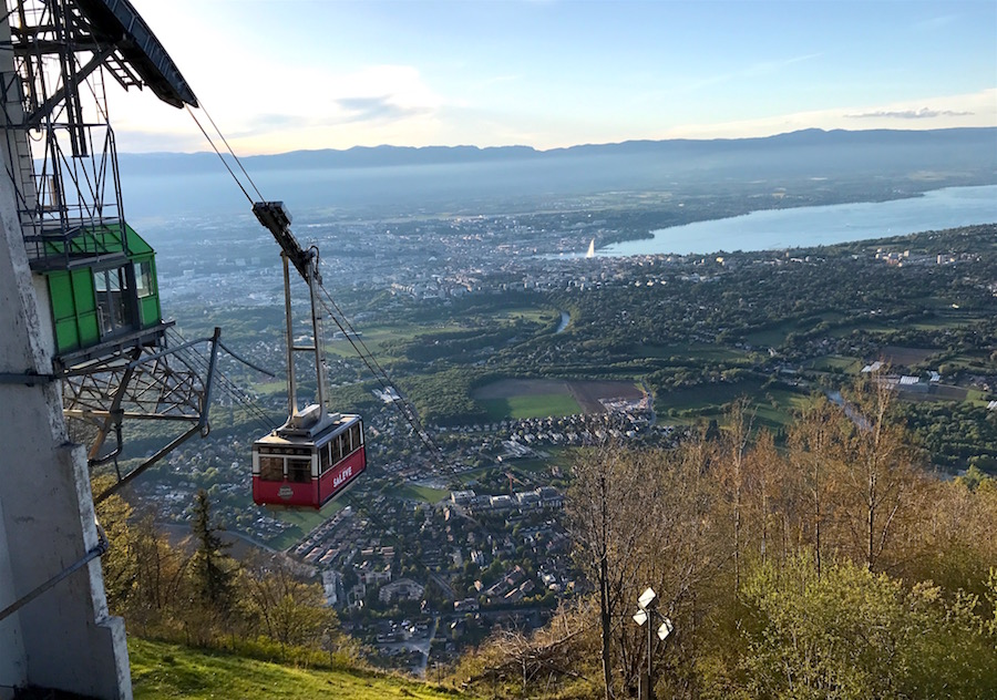 Mont Saleve Cable Car | Geneva Bucket List: Top Things to Do in Switzerland's Second Largest City