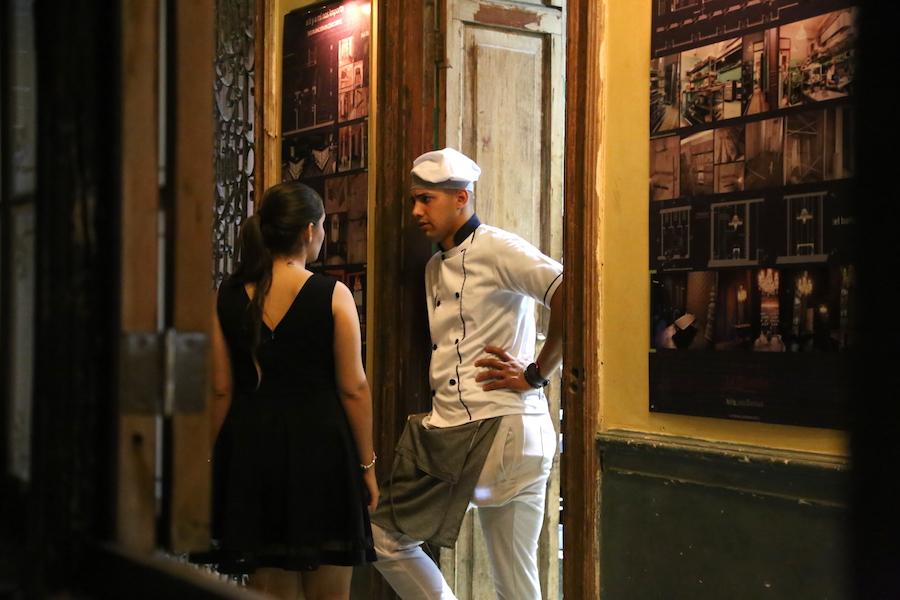 La Guarida Restaurant in Havana Cuba