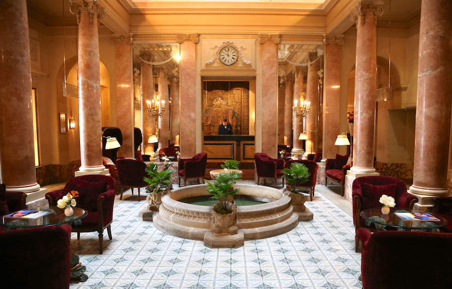 Beau Rivage Hotel Lobby | Geneva Bucket List: Top Things to Do in Switzerland's Second Largest City