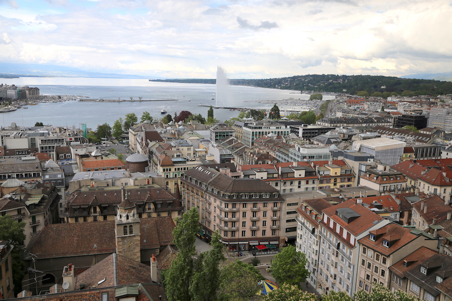 The View St. Pierre Church | Geneva Bucket List: Top Things to Do in Switzerland's Second Largest City