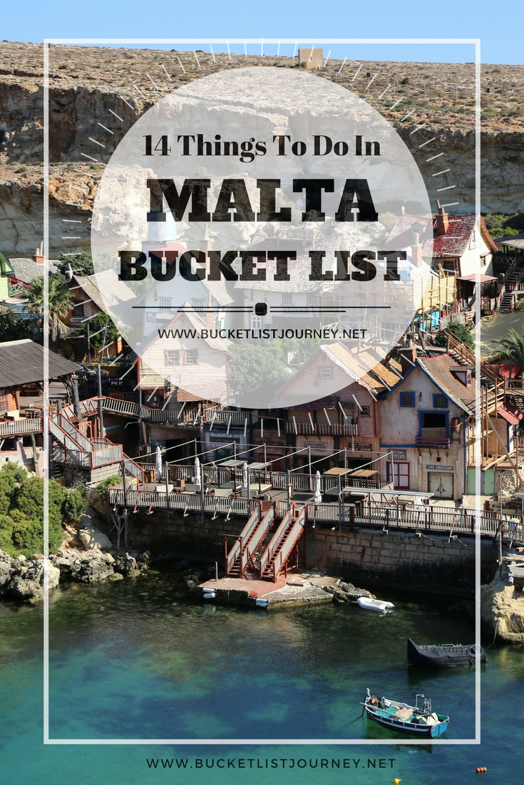 Malta Bucket List: 14 of the Best Things to Do on the European Island | Restaurants, Hotels, Attractions and Adventure's in Sliema, Gozo, Valletta and Mdina