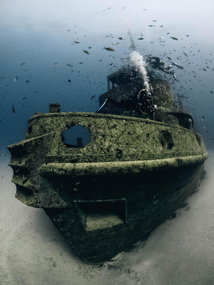 Shipwreck of HMS Maori