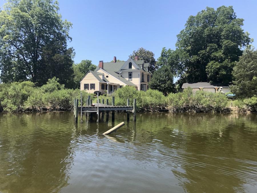 Kayaking through Onancock in the Eastern Shore of Virginia