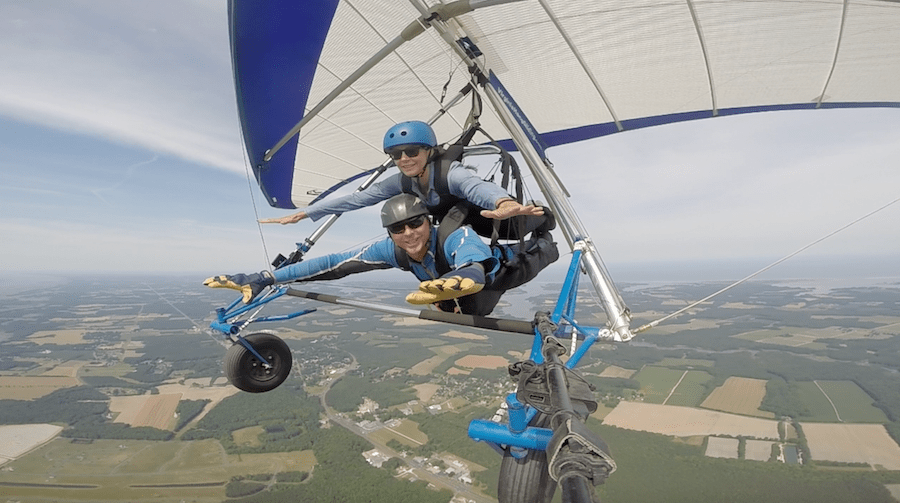 Annette White Hang gliding: Overcoming Anxiety to Live Your Dream: 8 Tips to Facing Your Fears