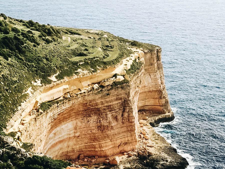 The Dingli Cliff in Malta