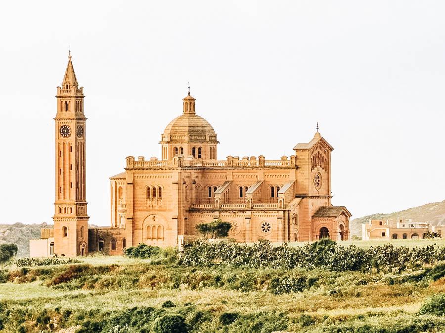See Ta' Pinu Basilica in Malta