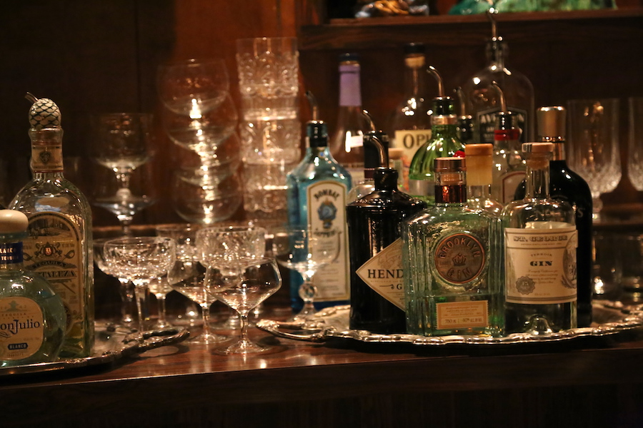 Cocktails at The Imperial in Goleta California